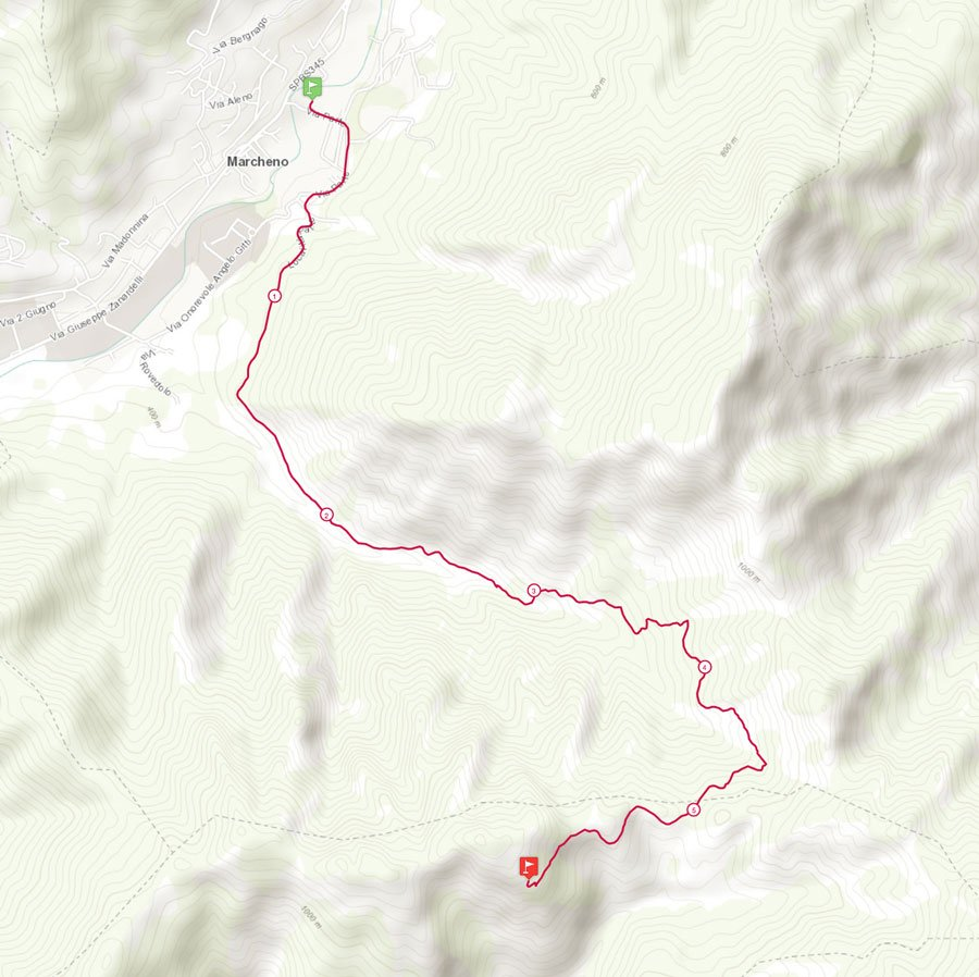 Corsa podistica Vandeno Vertical Run dall'oratorio di Marcheno al Santuario di Sant'Emiliano